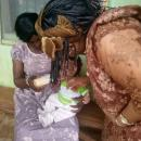 Visit at the Motherless babies' home