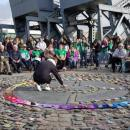 Placing the Wishing Stones, October 17, Dublin