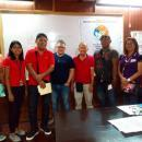 Barangay officials and Romeo Lagahit